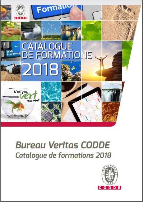 Catalogue formations CODDE 2018