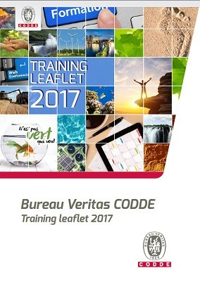 Professional training leaflet 2017