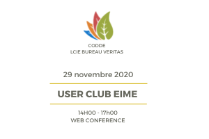 SAVE THE DATE – User Club EIME 2021